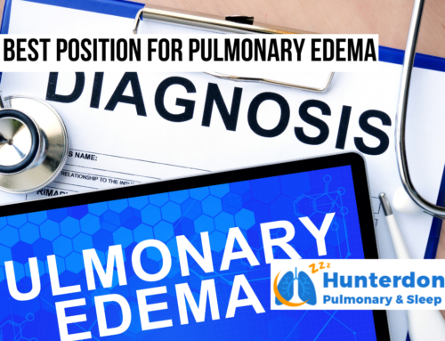 Best Position for Pulmonary Edema