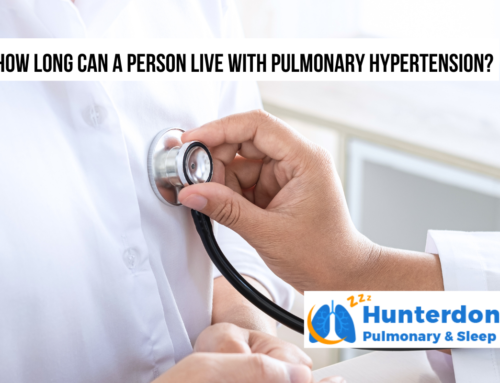 How long can a person live with pulmonary hypertension?