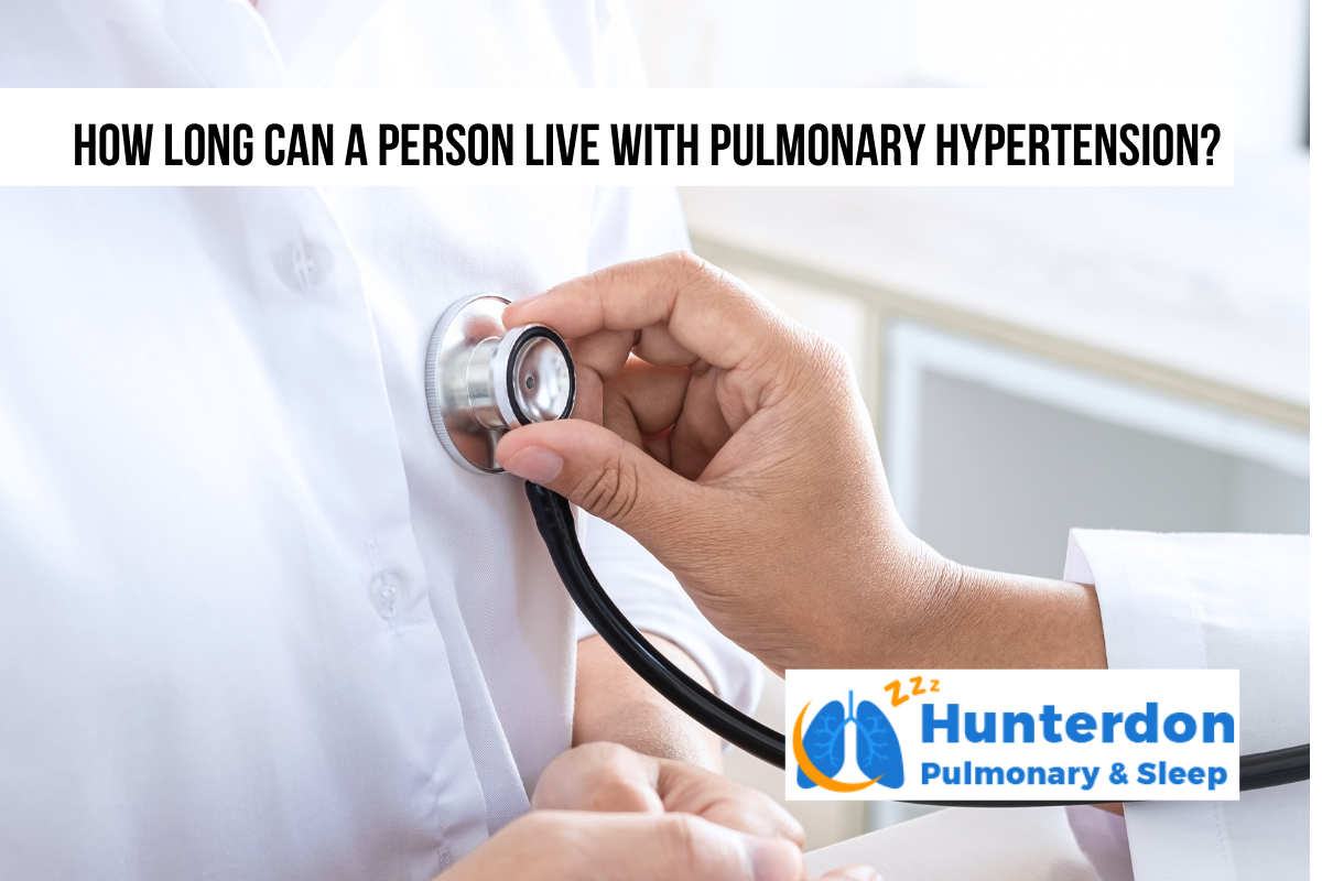 How long can a person live with pulmonary hypertension