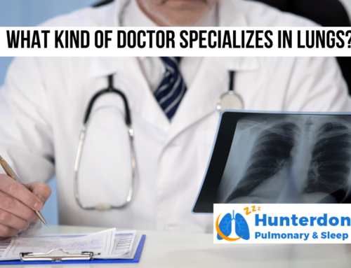 What kind of doctor specializes in lungs?