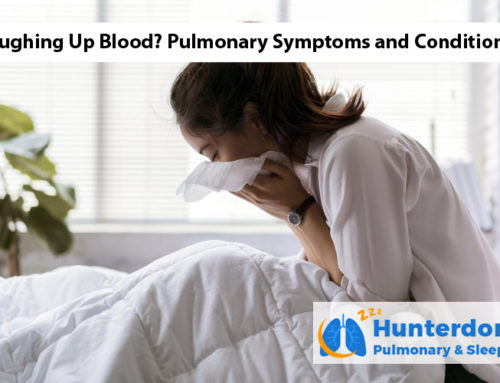 Coughing Up Blood? Pulmonary Symptoms and Conditions